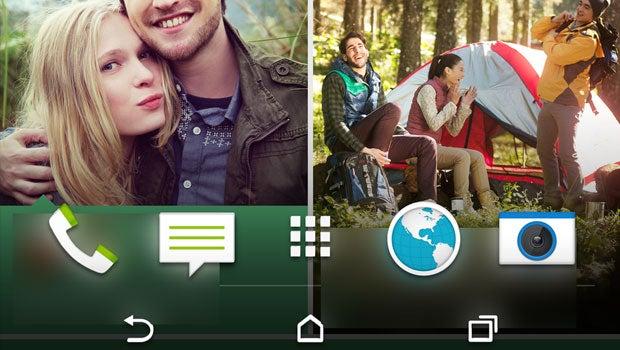 HTC One 2 homescreen