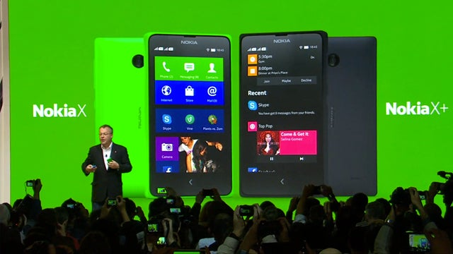 Nokia X at MWC