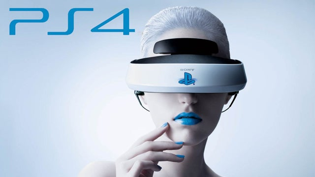PS4 VR headset concept