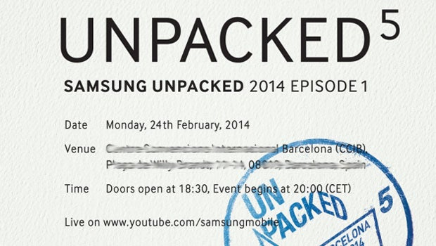 Samsung Galaxy S5 Invite