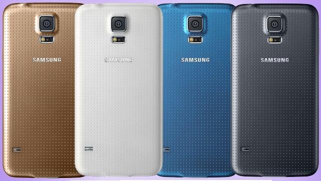 Samsung Galaxy S5 Colours