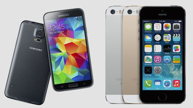 Galaxy S5 vs iPhone 5S  How do they compare   d936b245c60