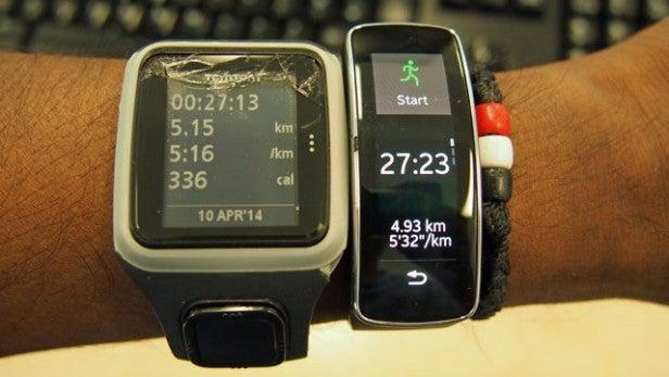 Samsung Gear tracking