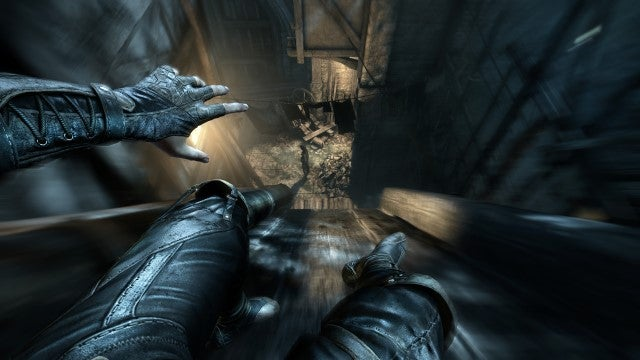 Thief screens polygon.