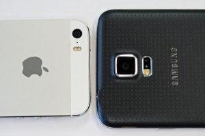 iphone 5s vs gs5