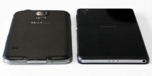 Xperia Z2 vs Galaxy S5 11