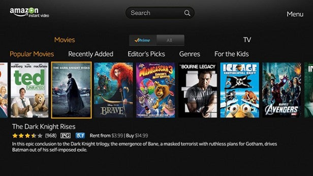 Amazon Prime Instant Video 5