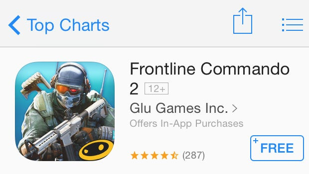 iOS in-app purchases
