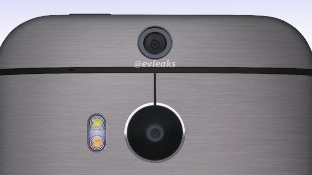 HTC One 2 dual camera