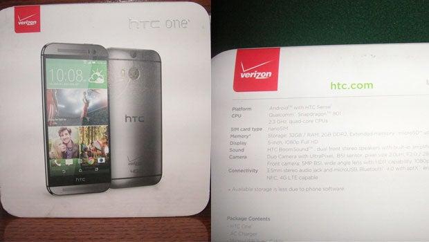 HTC One 2 eBay listing