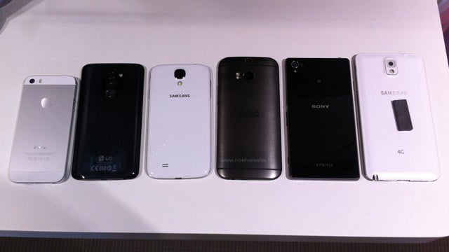 HTC One M8 lined up against rivals in latest photo leak | Trusted Reviews
