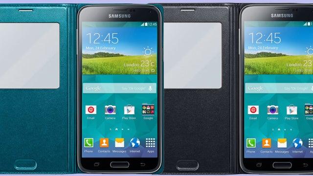 Samsung Galaxy S5 S View Case
