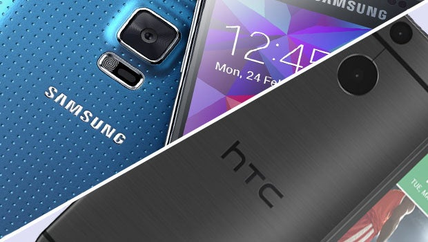 Samsung Galaxy S5 vs HTC One 2