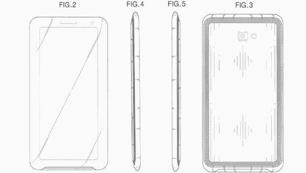 Samsung 21:9 phone patent