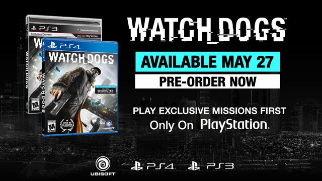 Watch Dogs exclusive PlayStation content