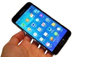 Galaxy S5 screen