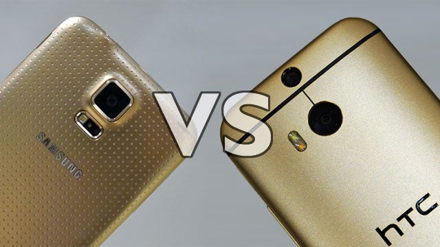 HTC One M8 vs Galaxy S5