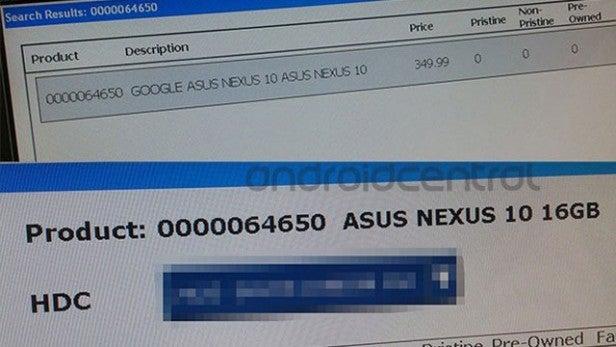 how to take screenshot on google nexus tablet
