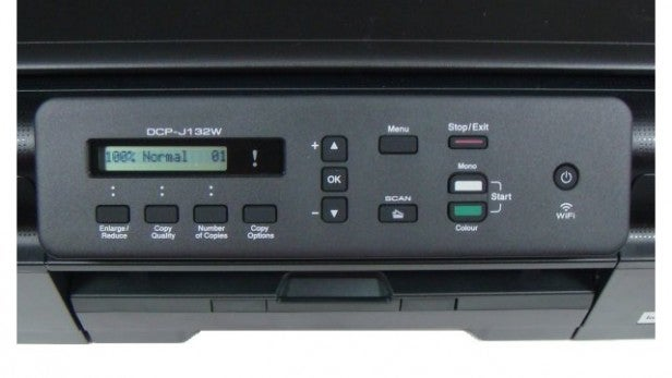 Brother DCP-J132W - Controls