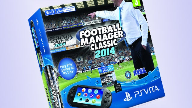 Football Manager Classic 2014 PS Vita bundle to arrive on