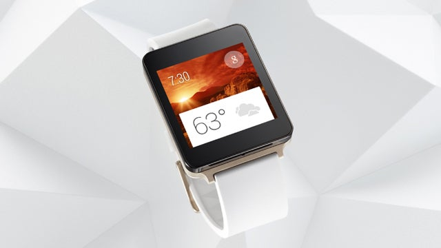LG G Watch Champagne Gold