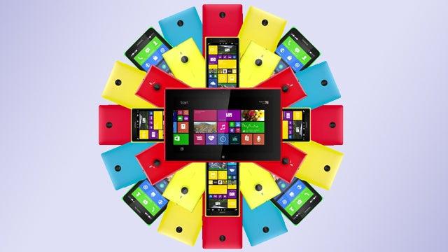 Nokia Lumia flower