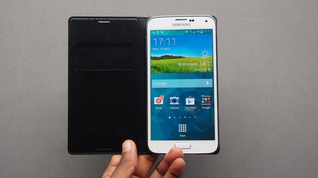 super popular 7487d 9666b Samsung Flip Wallet Cover | Trusted Reviews