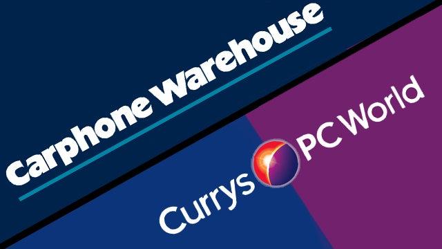 Carphone Warehouse and Dixons group merger