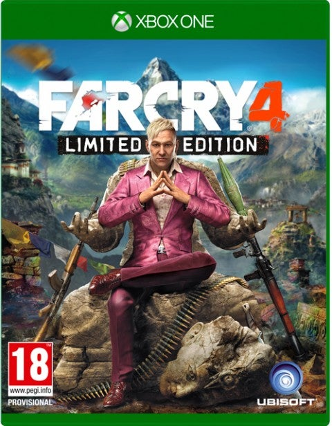 Far Cry 4 boxart