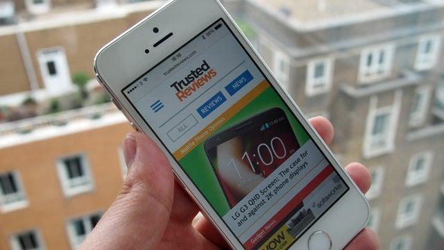 TR Mobile Site