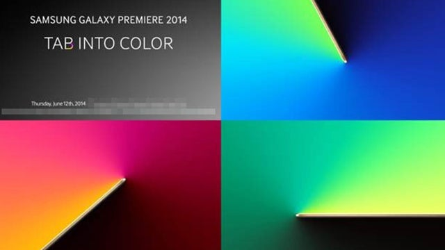 SAmsung Galaxy Premiere launch invite