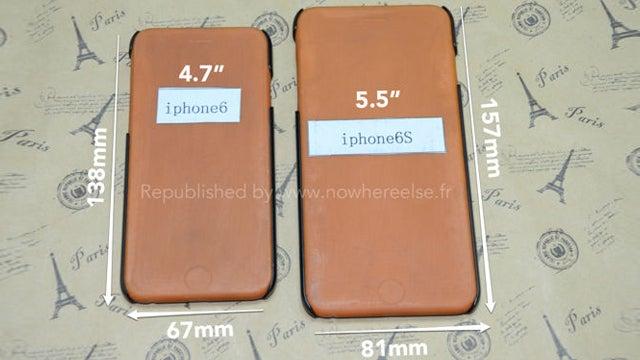 iPhone 6 case leak