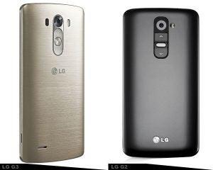 LG G3 vs Lg G2 1