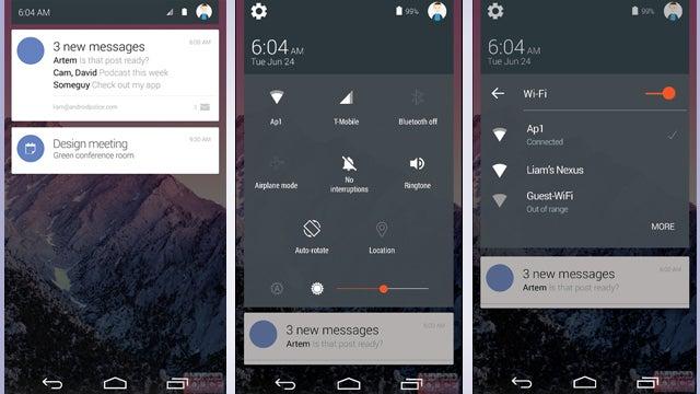 Android 5.0 Lollipop leak