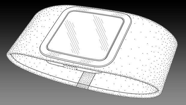 Microsoft smartwatch patent leaks