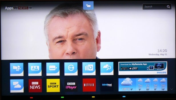 Philips 2014 Smart TV System Review   Trusted Reviews