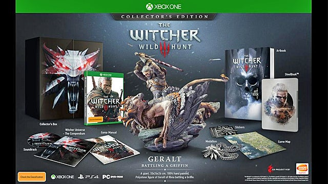 Witcher release date in Australia