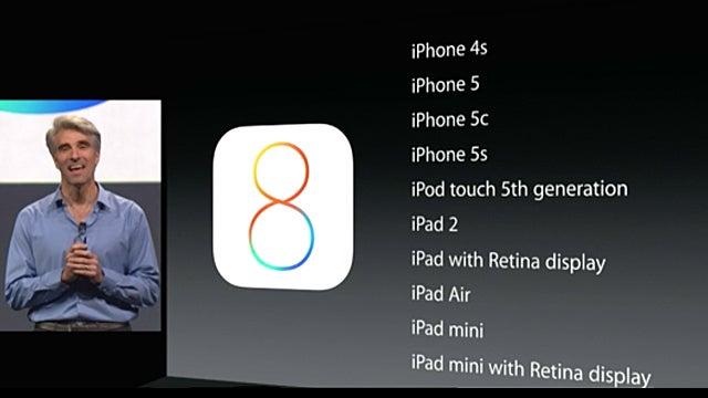 iOS 8 Availability