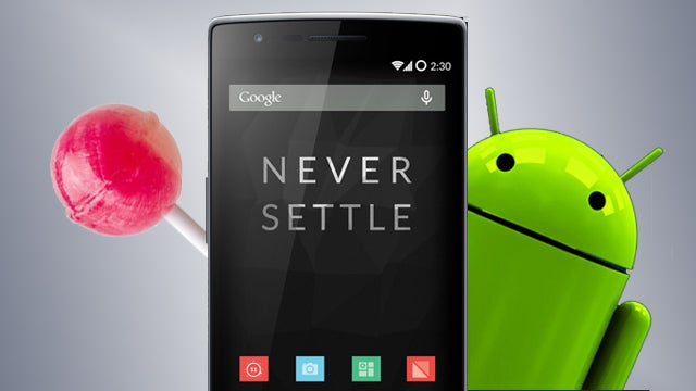 OnePlus One Android L