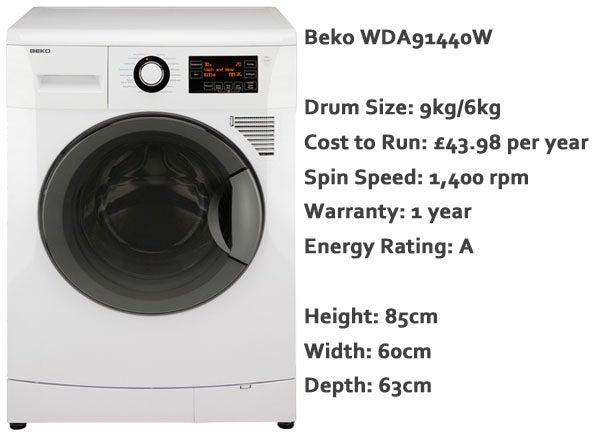 beko wm5100w how to use
