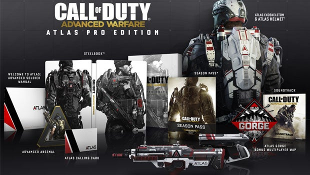 Call of Duty: Advanced Warfare Collector's Editions announced ... Call Of Duty Advanced Warfare Map Pack Release Dates on