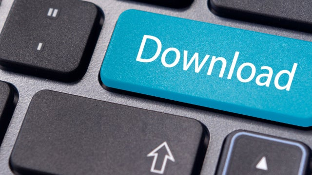 Online piracy button