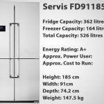 Servis FD91185SS