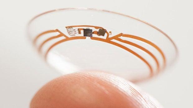 Google contact lens