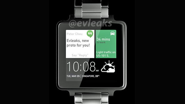 HTC smartwatch leak