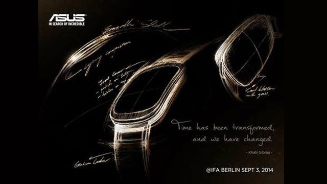 Asus Android Wear watch teaser