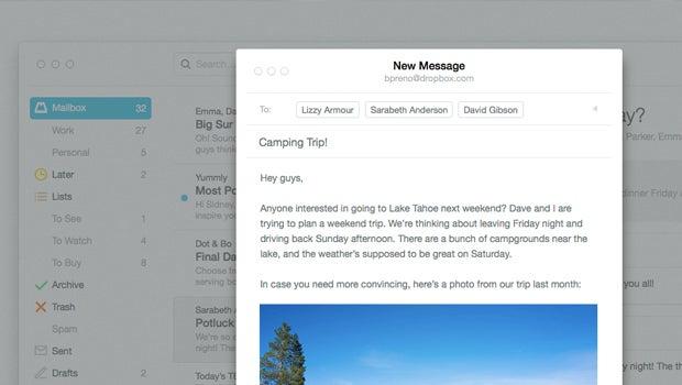 Mailbox for Mac OS X