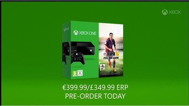 FIFA 15 Xbox One bundle