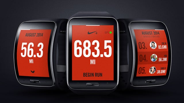 Samsung Gear S with Nike+ Running