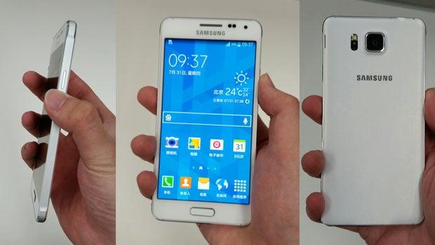 Samsung Galaxy Alpha leak